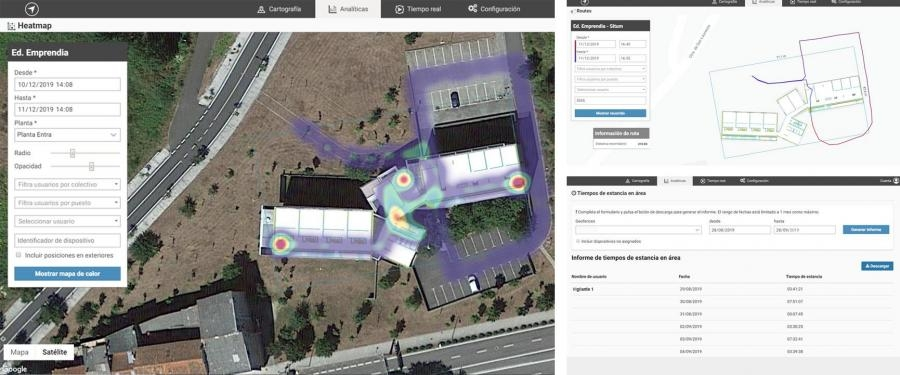 How indoor positioning analytics can turn into the best tool for a security company.