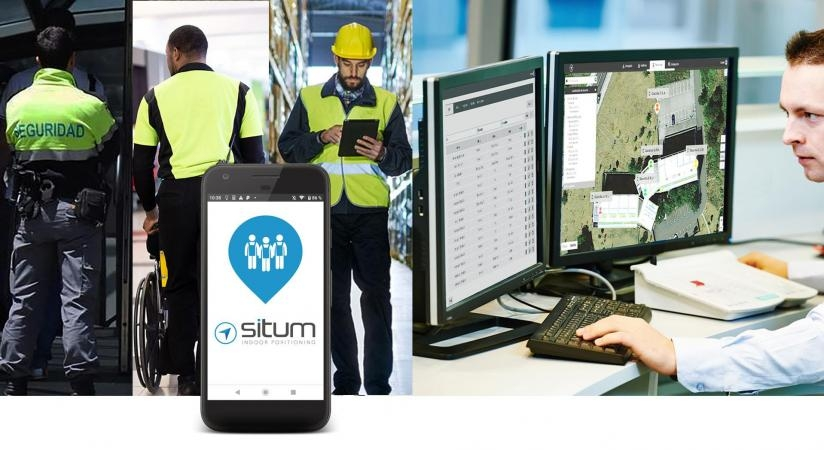 Situm MRM:  Efficient employee management with indoor geolocation without additional infrastructure.