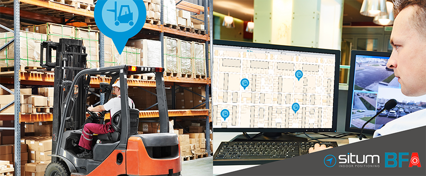 Situm works with BFA to optimize the logistic in factories through location