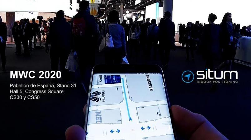 Situm, el GPS para interiores, en directo en el MWC 2020