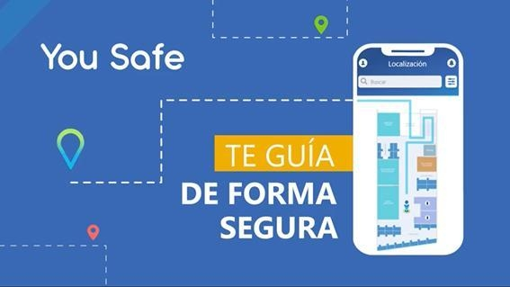 You Safe: The App for Emergency Evacuations developed by DB System with Situm's indoor location technology