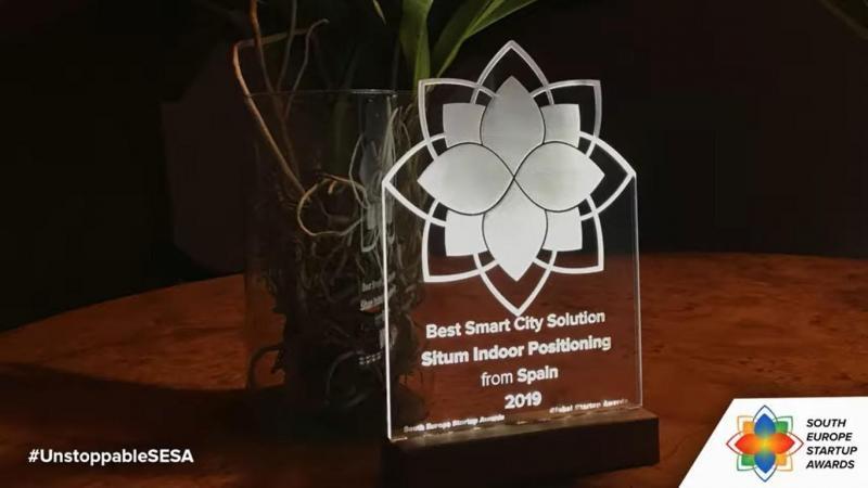 Situm, winner of SESA Awards, category Best Smart City Solution