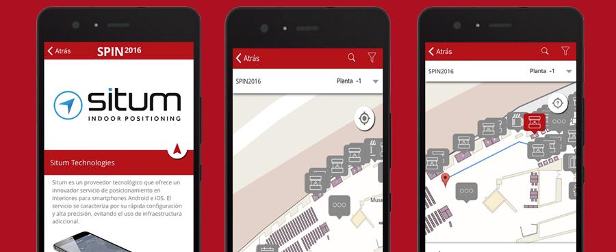 Situm proporciona localización y navegación en interiores a los visitantes de SPIN2016