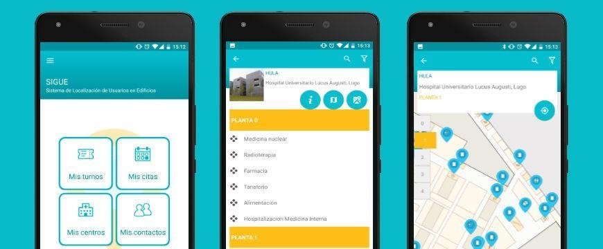 Galicia announces a mobile app to guide patients through hospitals